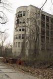 被放弃的编译的医院 免版税库存图片