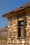 被放弃的编译的califor死亡鬼魂找出城镇谷 库存照片