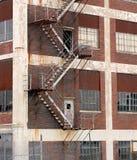 被放弃的美国工厂 图库摄影