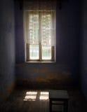 被放弃的老室 免版税库存图片