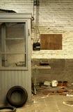 被放弃的老工作地点 库存照片