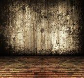 被放弃的背景grunge房子土气葡萄酒 免版税图库摄影