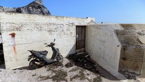 被放弃的自行车 免版税库存图片