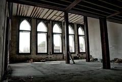 被放弃的行业结构 库存图片