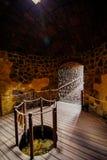 被放弃的议院在耶罗岛海岛 免版税图库摄影