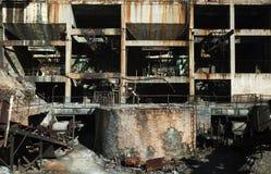 被放弃的设施 免版税库存图片