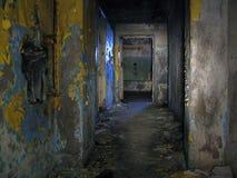被放弃的走廊 免版税库存图片