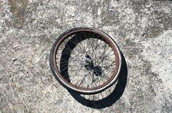 被放弃的轮胎 库存图片