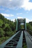 被放弃的铁路桥梁 库存图片