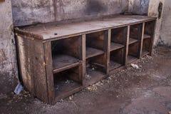 被放弃的阿尔基费矿 库存图片