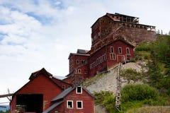 被放弃的阿拉斯加铜矿 库存照片