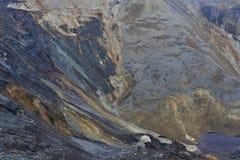 被放弃的露天开采矿05 免版税库存图片