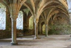 被放弃的abbey1 免版税库存照片