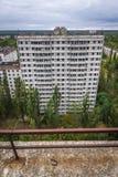 被放弃的Pripyat市 免版税库存照片