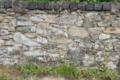被放置的岩石篱芭 库存图片