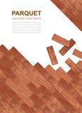 浅褐色的木条地板 免版税库存图片