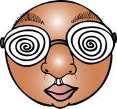 被施催眠术的眼睛 免版税库存图片