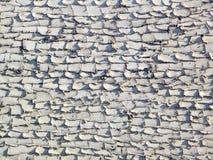 被日光照射了难看的东西被仿造的灰泥墙壁 库存图片