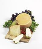 被晒干的干酪 免版税库存图片