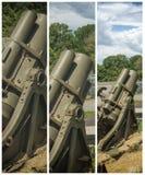 被构筑的火箭发射器 免版税库存照片