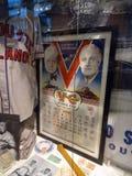 被构筑的Victory' s以富兰克林D为特色的冠军海报 罗斯福 免版税库存图片