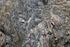被构造的岩石 免版税库存图片