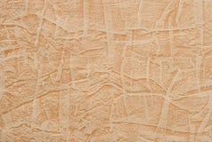 被构造的橙色纸张 免版税库存照片