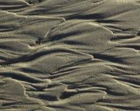 被构造的沙子 图库摄影