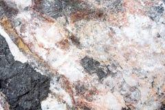 被构造的石岩石,背景 免版税库存照片