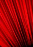 被构造的窗帘红色 免版税库存图片