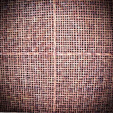 被构造的竹席子 免版税库存图片