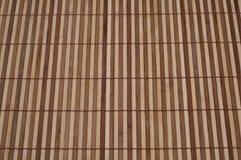 被构造的竹模式 免版税库存图片