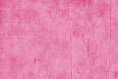 被构造的纸桃红色剪贴薄 库存照片