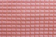被构造的美丽居住珊瑚背景 ??2019? 趋向的基本概念 织品坐垫的纹理 免版税图库摄影