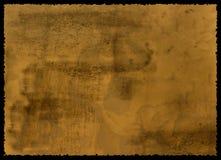 被构造的老纸张 免版税图库摄影