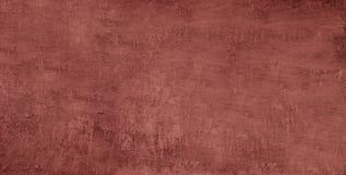 被构造的背景混凝土 空白的红色纹理关闭设计的 复制空间 免版税库存照片