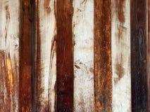被构造的背景的布朗木墙壁 图库摄影