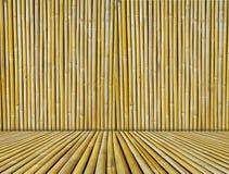 被构造的背景竹子 免版税库存照片