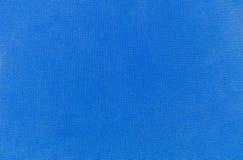 被构造的背景蓝色cordura织品宏观模式照片相似性平直的纹理 免版税图库摄影
