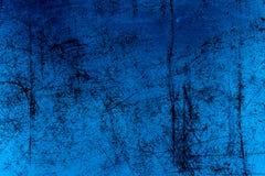 被构造的蓝色羊皮纸 库存照片