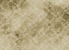 被构造的backgroun中国金银细丝工的模式 免版税图库摄影