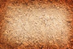 被构造的Sand.Color。 库存照片