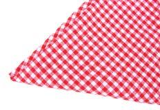 被检查的查出的茶巾 免版税库存图片