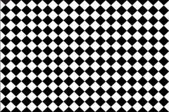 被检查的黑,白色背景 免版税库存图片