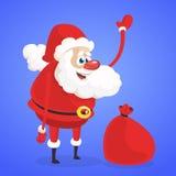 被概述的滑稽的动画片雪人 圣诞节雪人被隔绝的字符例证 图库摄影