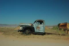 被毁坏的卡车 免版税库存照片