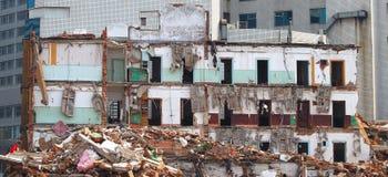 被毁坏的大厦 免版税图库摄影