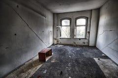 被毁坏的屋子 免版税库存图片