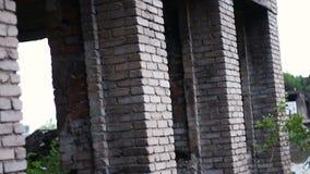 被毁坏的房子战争在乌克兰 影视素材
