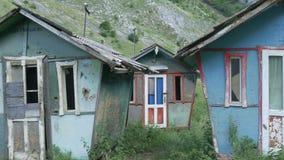 被毁坏的房子 股票视频
